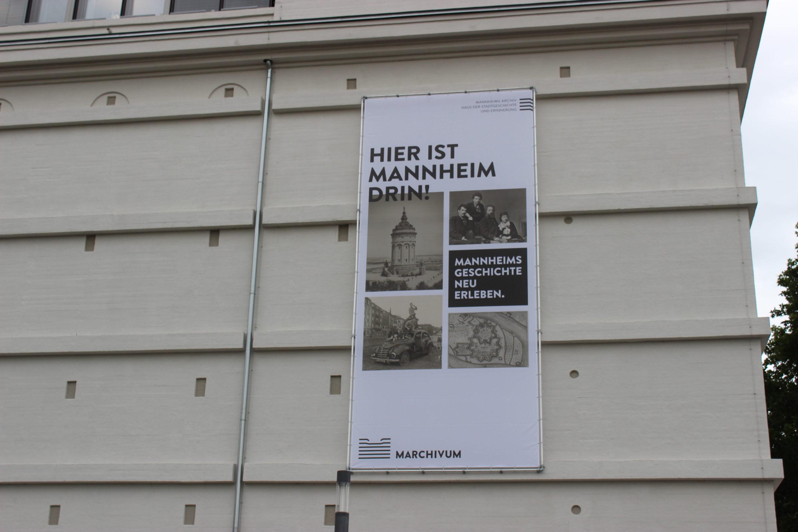 Hier ist Mannheim