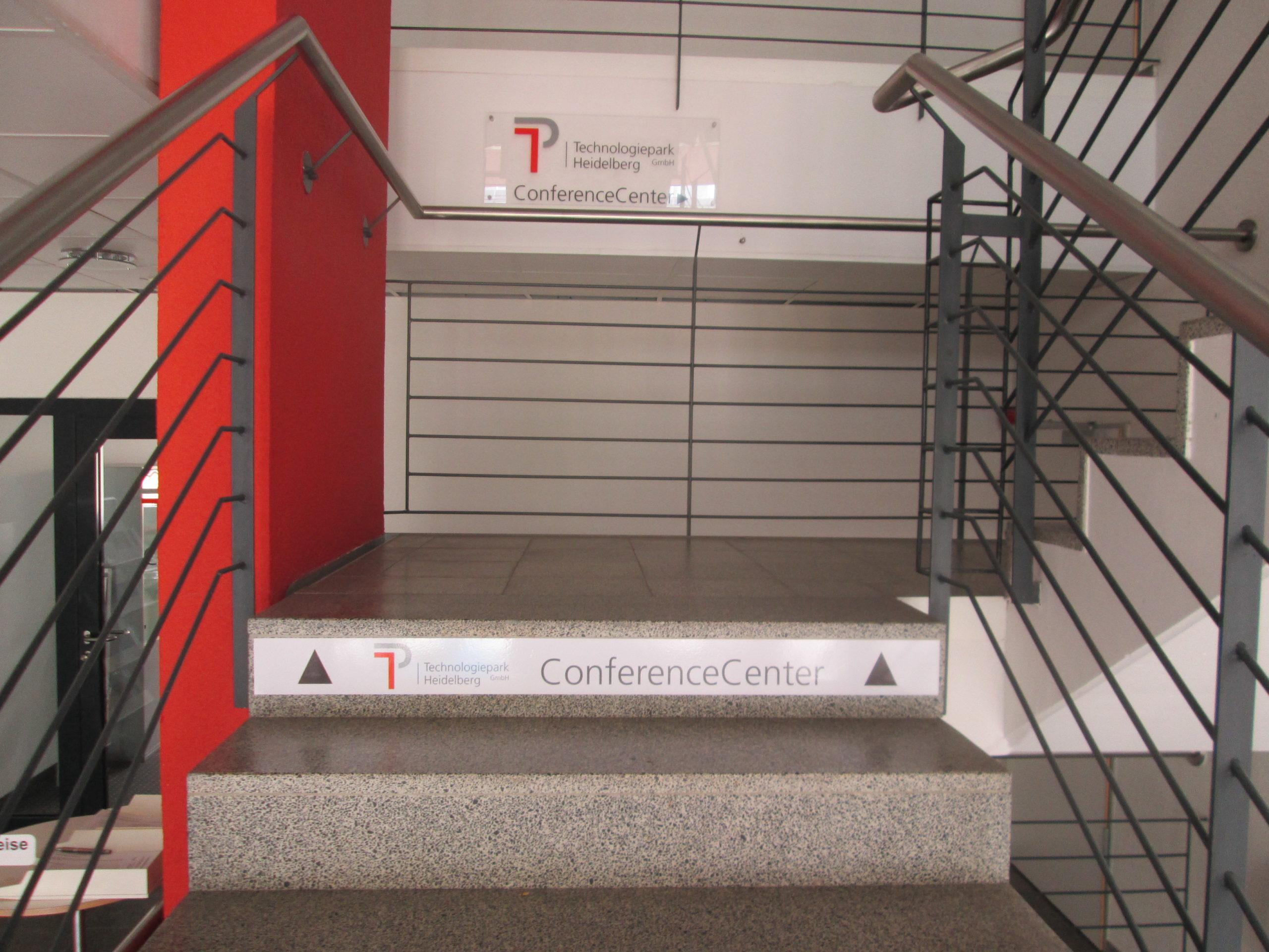 Treppenhausfolierung Stufen